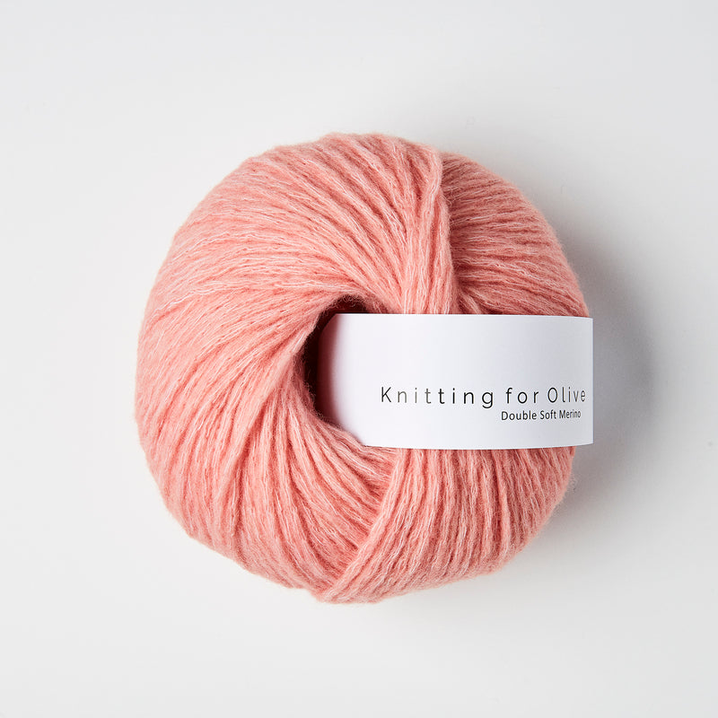 Knitting for Olive Double Soft Merino - Flamingo