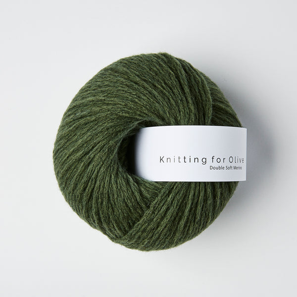 Knitting for Olive Double Soft Merino - Bottle Green
