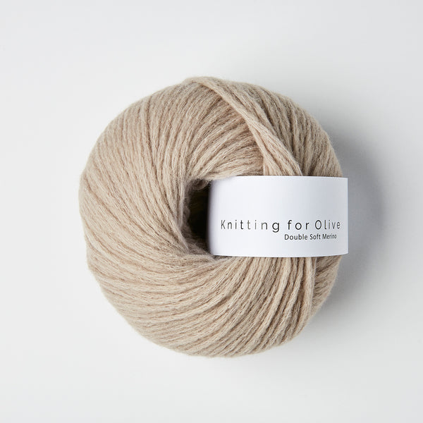 Knitting for Olive Double Soft Merino - Oatmeal