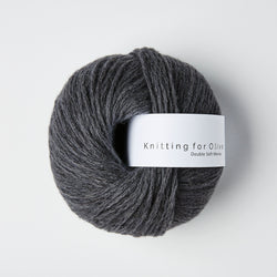 Knitting for Olive Double Soft Merino - Charcoal Gray