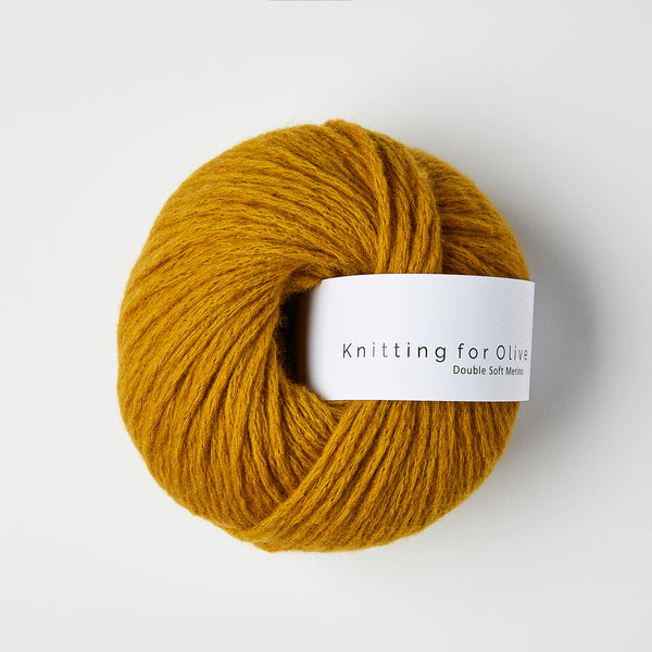 Knitting for Olive Double Soft Merino - Dark Ocher