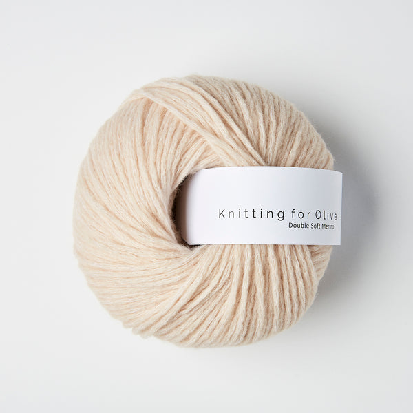 Knitting for Olive Double Soft Merino - Powder