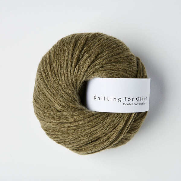 Knitting for Olive Double Soft Merino - Dusty Olive
