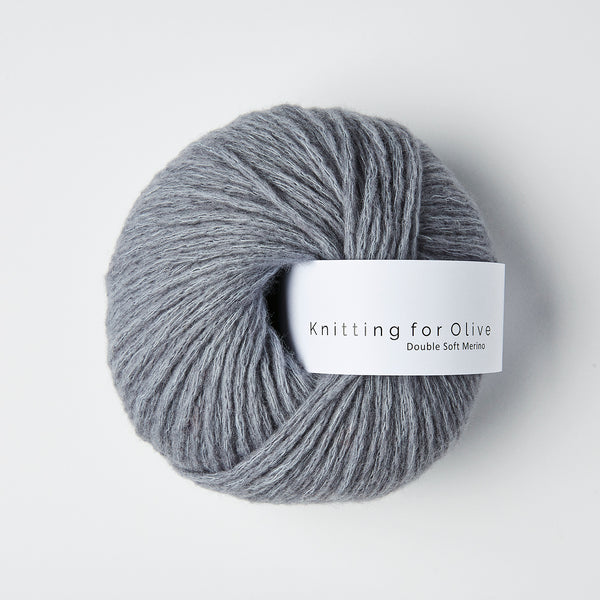 Knitting for Olive Double Soft Merino - Dusty Petroleum Blue