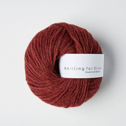 Knitting for Olive Double Soft Merino - Claret