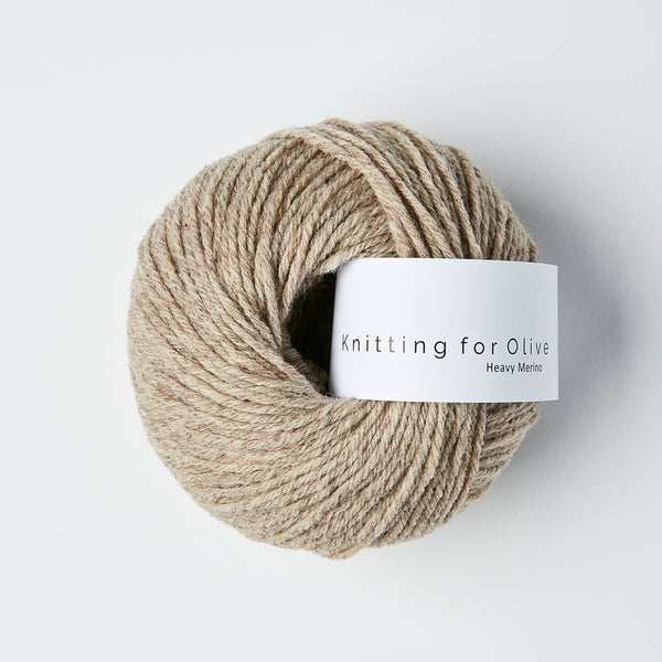 Knitting for Olive HEAVY Merino - Oatmeal