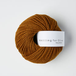 Knitting for Olive HEAVY Merino - Ocher Brown