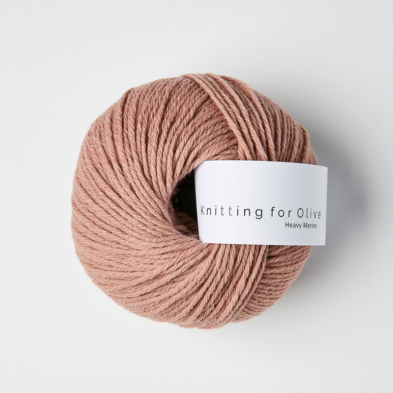 Knitting for Olive HEAVY Merino - Rose Clay