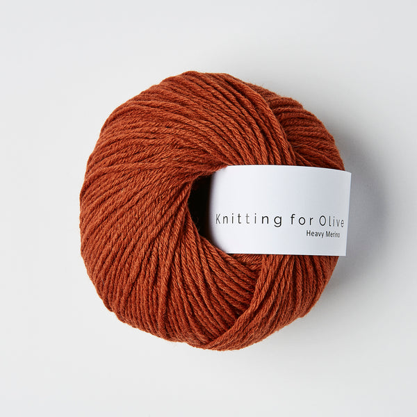 Knitting for Olive HEAVY Merino - Rust