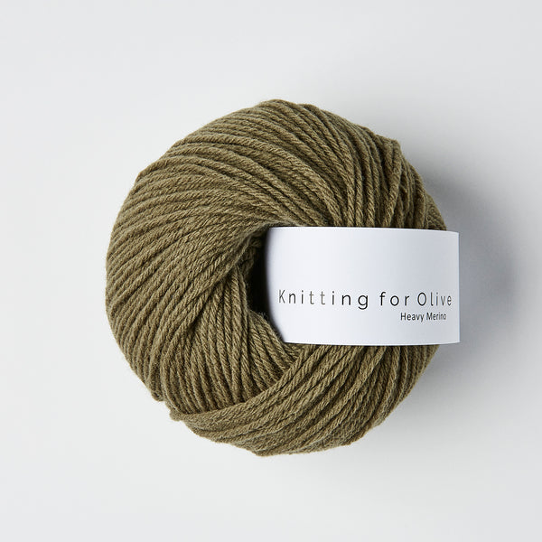 Knitting for Olive HEAVY Merino - Dusty Olive