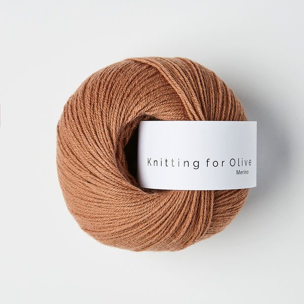 Knitting for Olive Merino - Brown Nougat