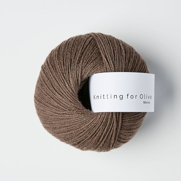 Knitting for Olive Merino - Plum Clay