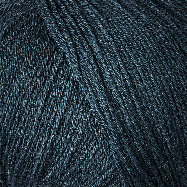 Knitting for Olive Merino - Deep Petroleum Blue