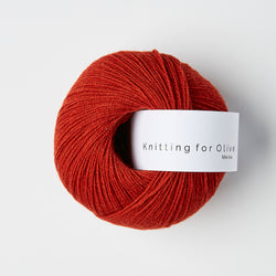 Knitting for Olive Merino - Pomegranate