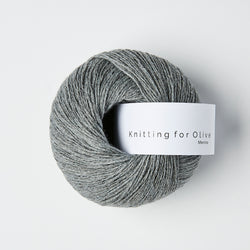 Knitting for Olive Merino - Granite Gray