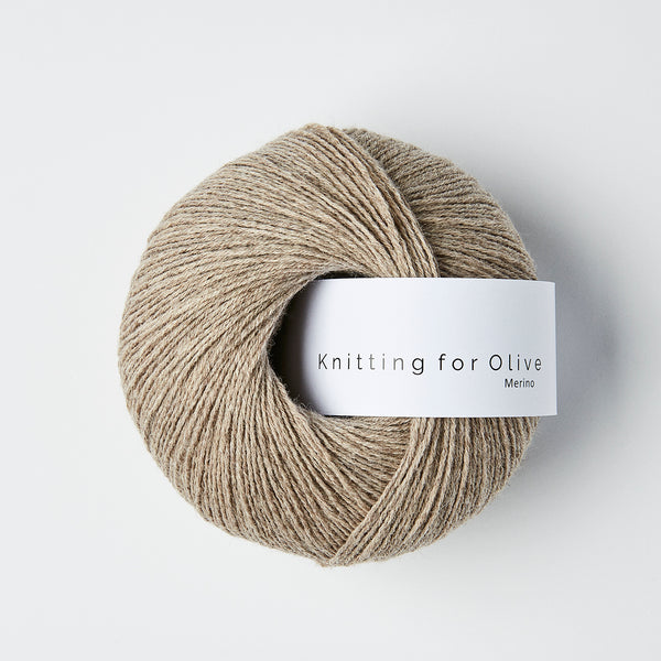 Knitting for Olive Merino - Oatmeal