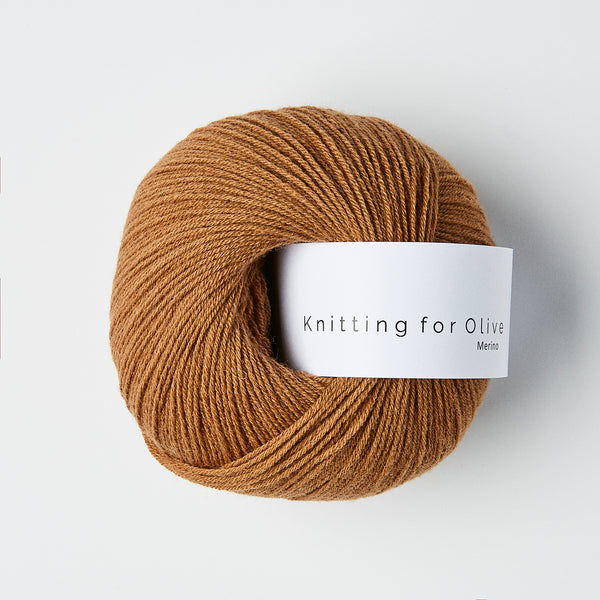 Knitting for Olive Merino - Caramel