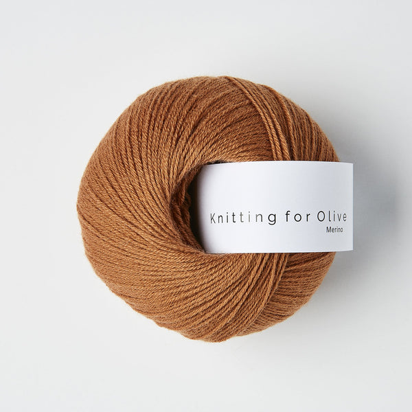 Knitting for Olive Merino - Copper