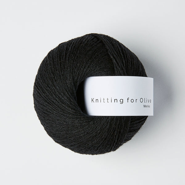Knitting for Olive Merino - Licorice