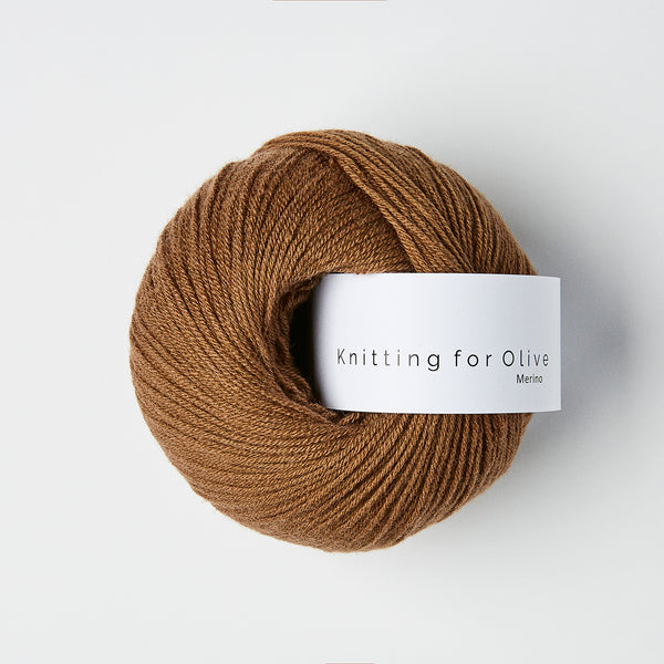 Knitting for Olive Merino - Soft Cognac
