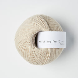 Knitting for Olive Merino - Marzipan