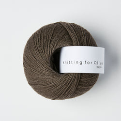 Knitting for Olive Merino - Dark Moose