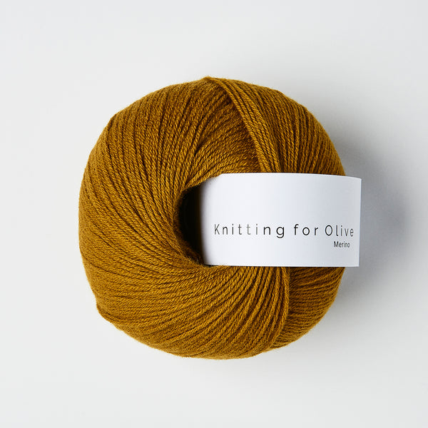 Knitting for Olive Merino - Dark Ocher