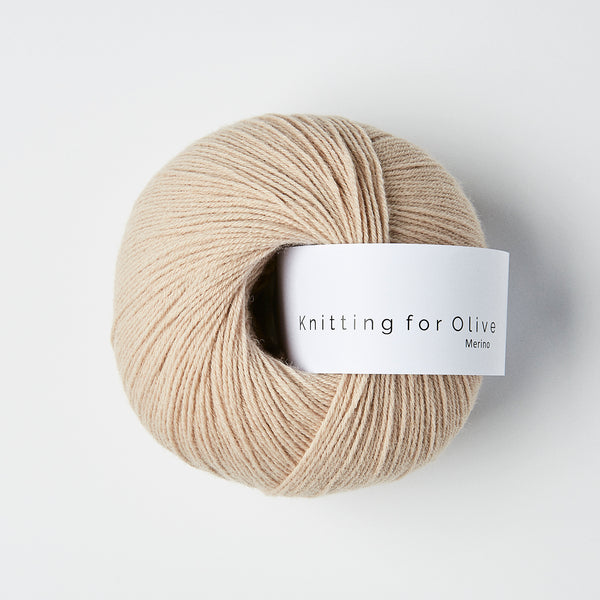 Knitting for Olive Merino - Powder