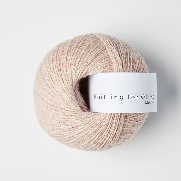Knitting for Olive Merino - Soft Rose