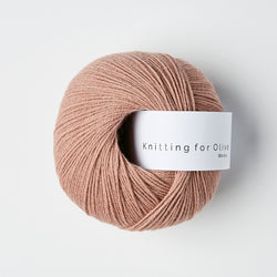Knitting for Olive Merino - Rose Clay