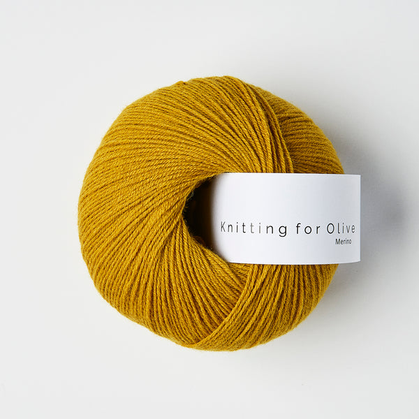 Knitting for Olive Merino - Mustard