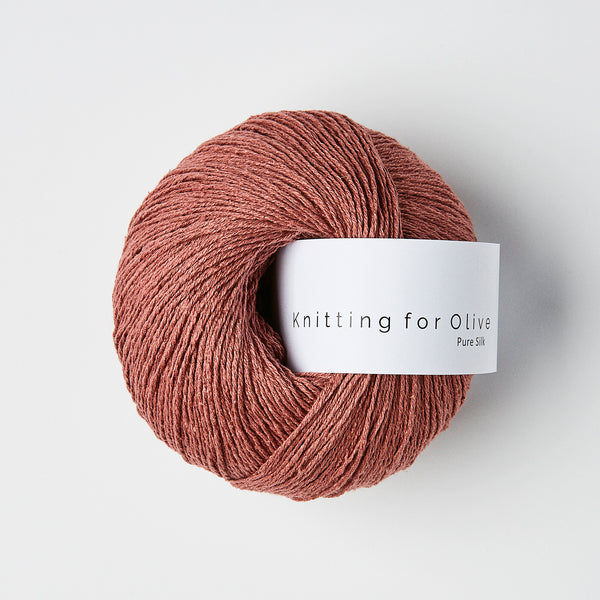Knitting for Olive Pure Silk - Plum Rose