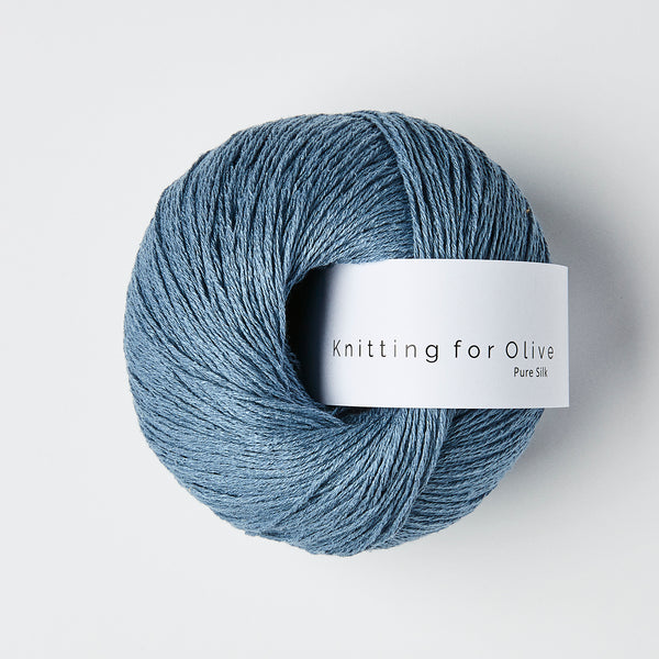 Knitting for Olive Pure Silk - Dove Blue