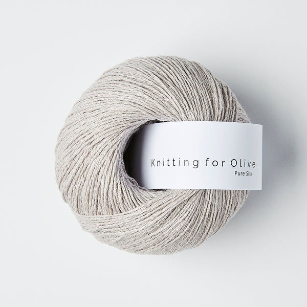 Knitting for Olive Pure Silk - Linen Gray