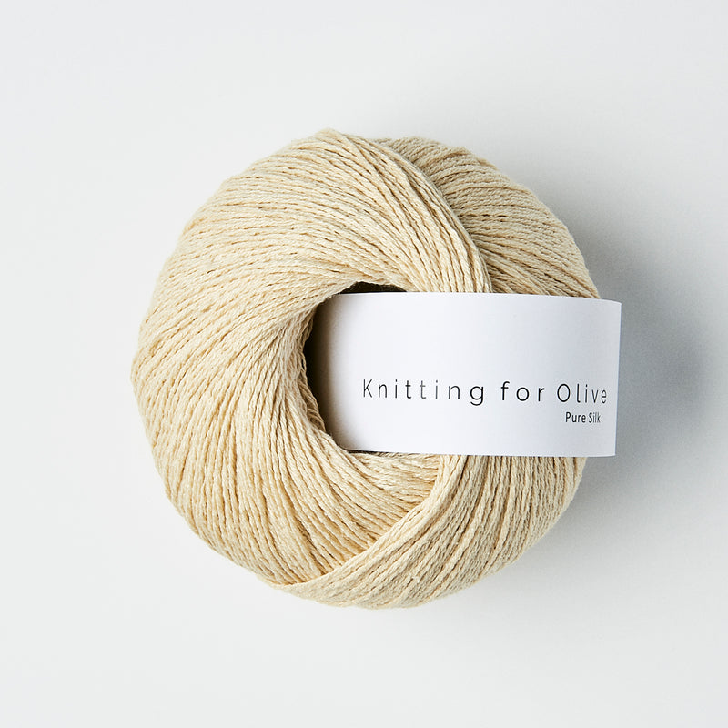 Knitting for Olive Pure Silk - Wheat