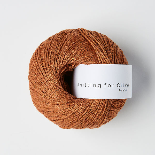Knitting for Olive Pure Silk - Copper