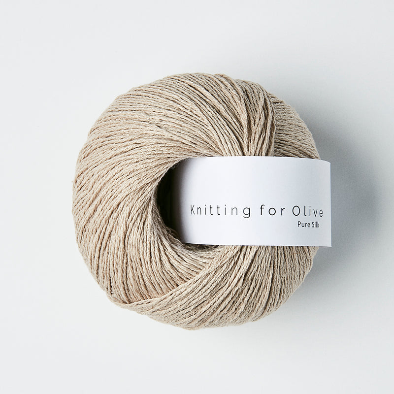 Knitting for Olive Pure Silk - Powder