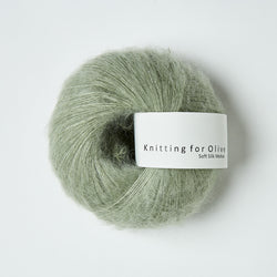 Knitting for Olive Soft Silk Mohair - Dusty Artichoke