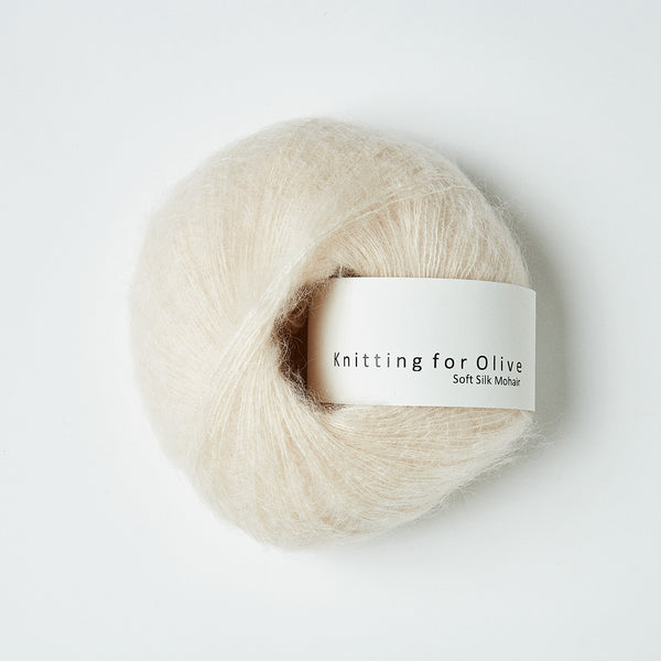 Knitting for Olive Soft Silk Mohair - Cloud