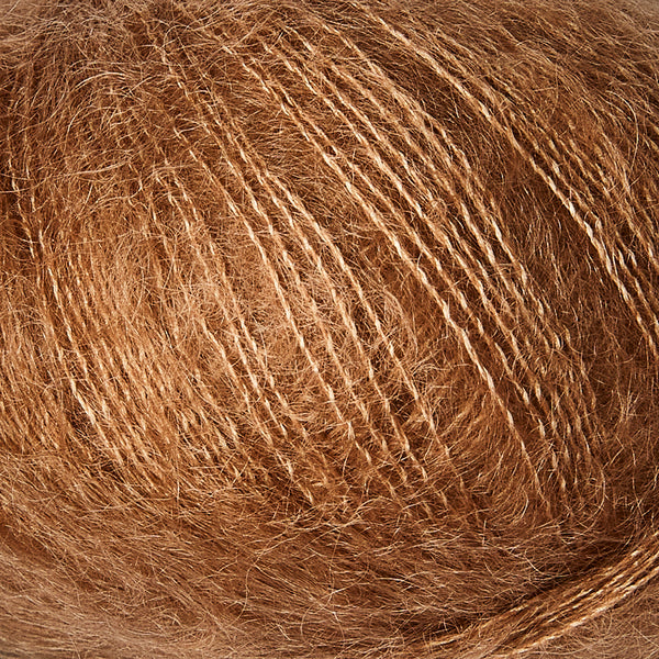 Knitting for Olive Soft Silk Mohair - Brown Nougat