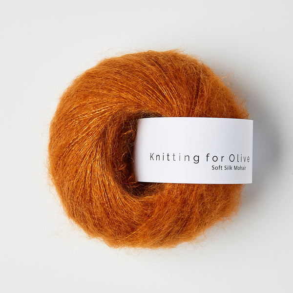 Knitting for Olive Soft Silk Mohair - Autumn