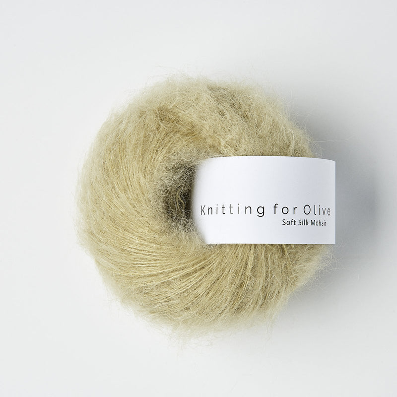 Knitting for Olive Soft Silk Mohair - Fennel Seed