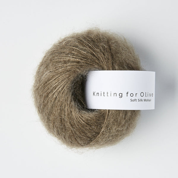 Knitting for Olive Soft Silk Mohair - Hazel