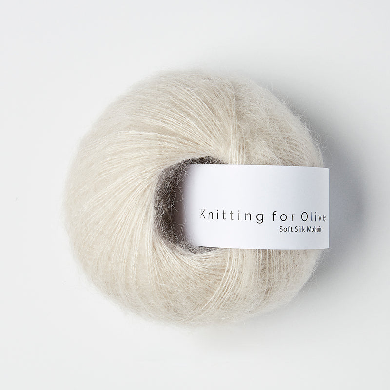 Knitting for Olive Soft Silk Mohair - Putty