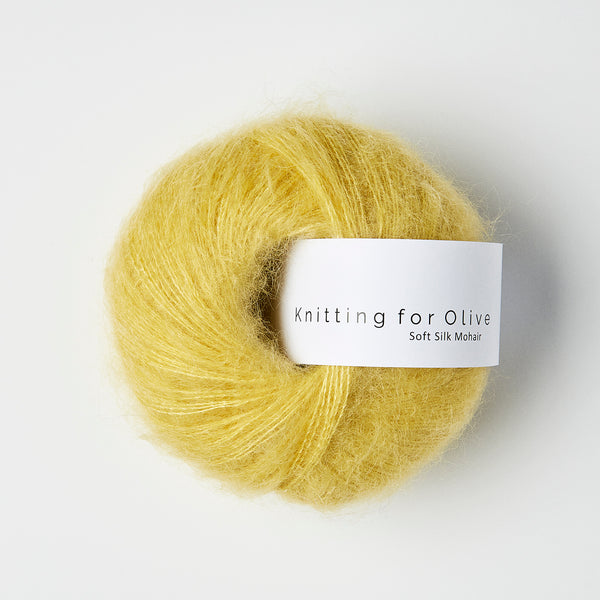 Knitting for Olive Soft Silk Mohair - Quince