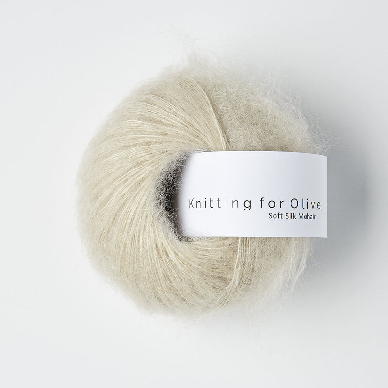 Knitting for Olive Soft Silk Mohair - Marzipan