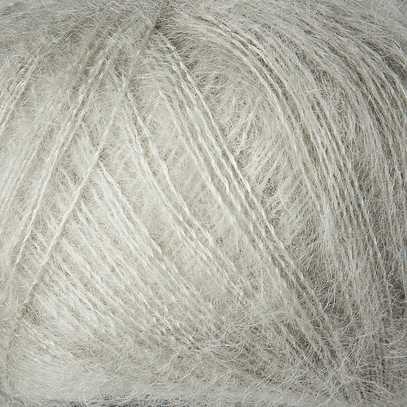 Knitting for Olive Soft Silk Mohair - Pearl Gray