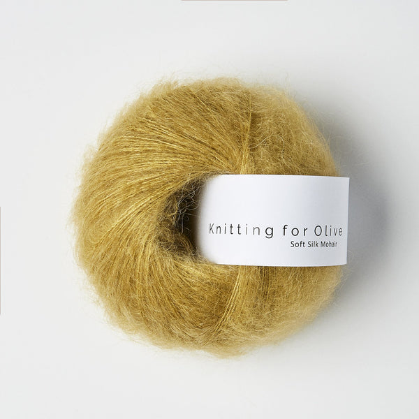 Knitting for Olive Soft Silk Mohair - Dusty Honey