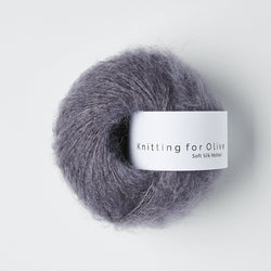 Knitting for Olive Soft Silk Mohair - Dusty Violet