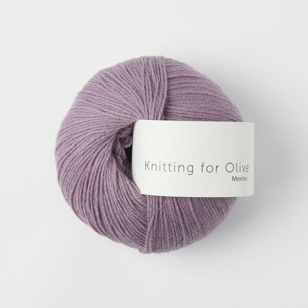 Knitting for Olive Merino - Artichoke Purple